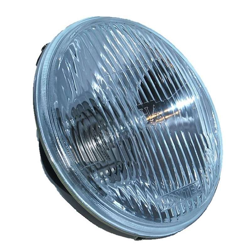 "Image of (2) 7"" round (Stock style glass housings) INCLUDING 6K LED"