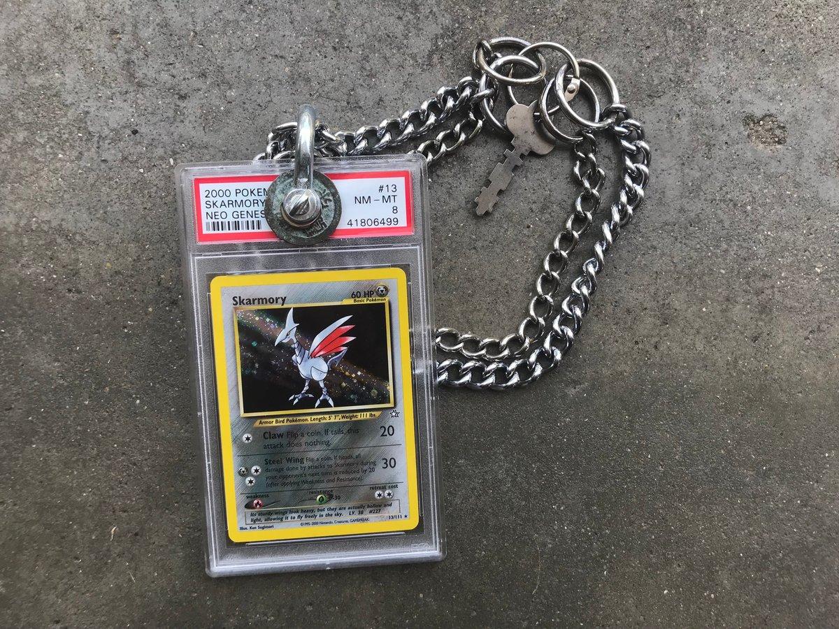 """Image of Skarmory 20"""" dog collar"""