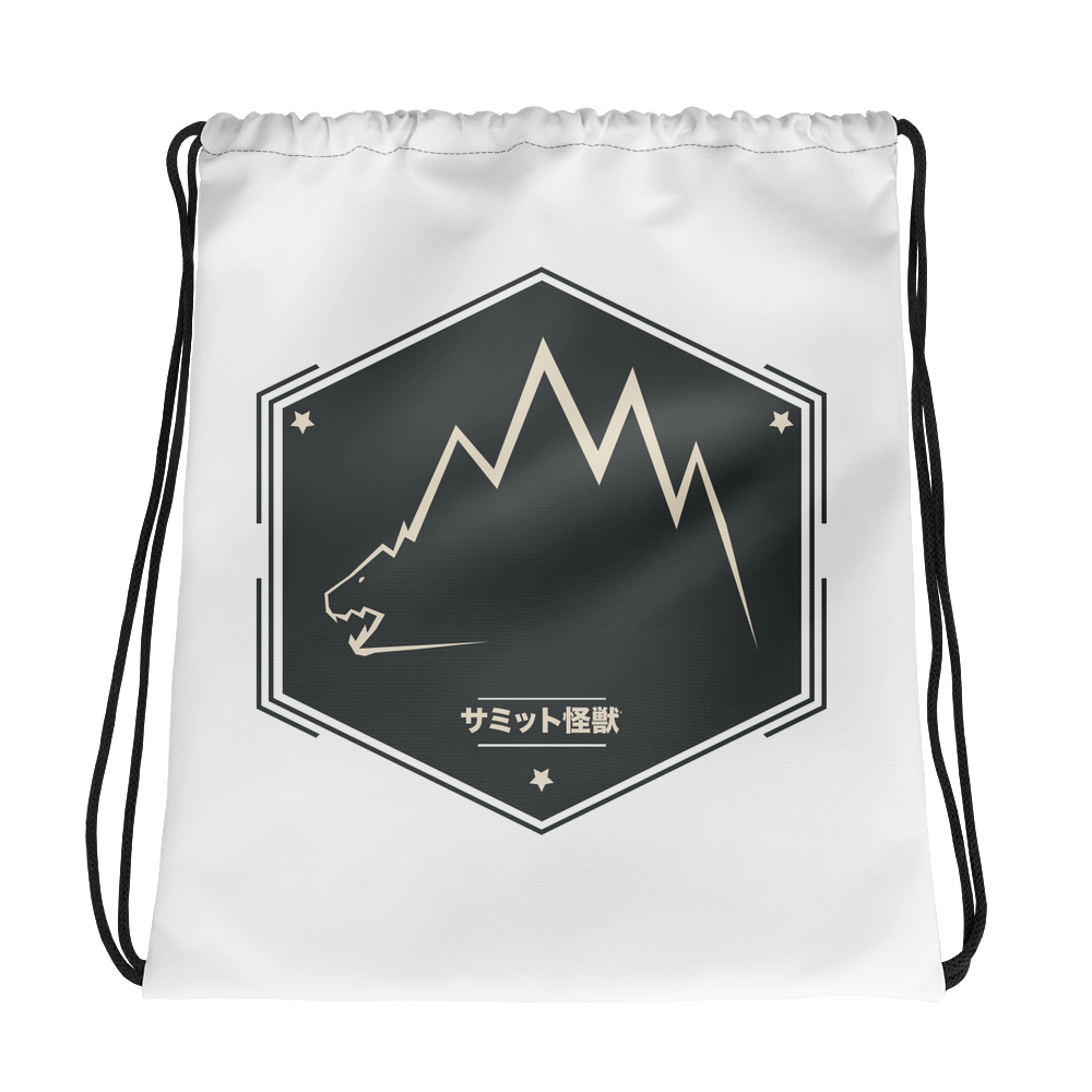Image of Summit Kaiju International Drawstring Bag