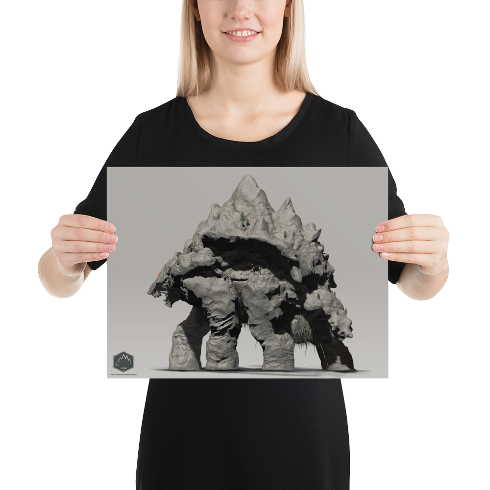 Image of The Summit Kaiju Poster (Enhanced Matte Paper Poster )
