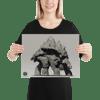 The Summit Kaiju Poster (Enhanced Matte Paper Poster )
