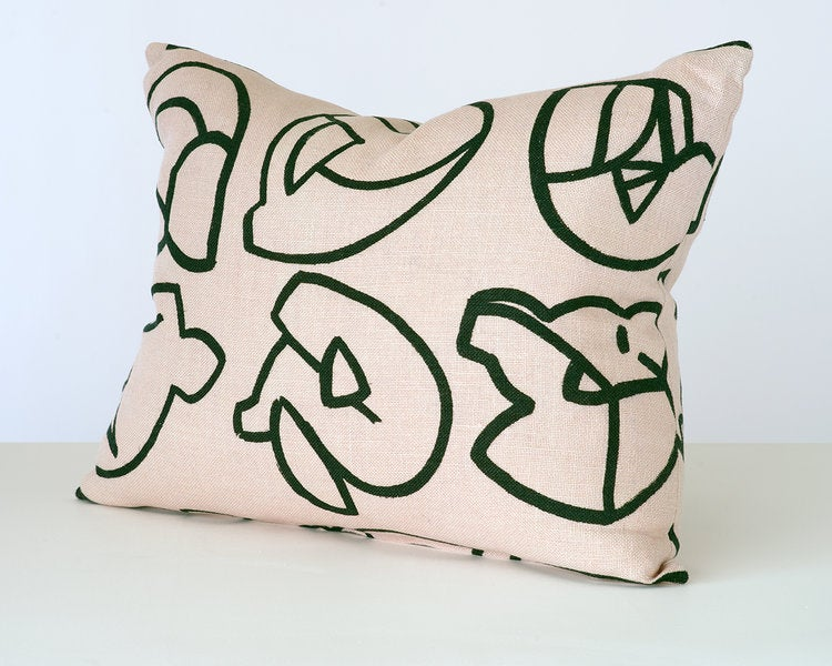 Image of Icon cushion by Stoff Studio (4 different colour ways available)
