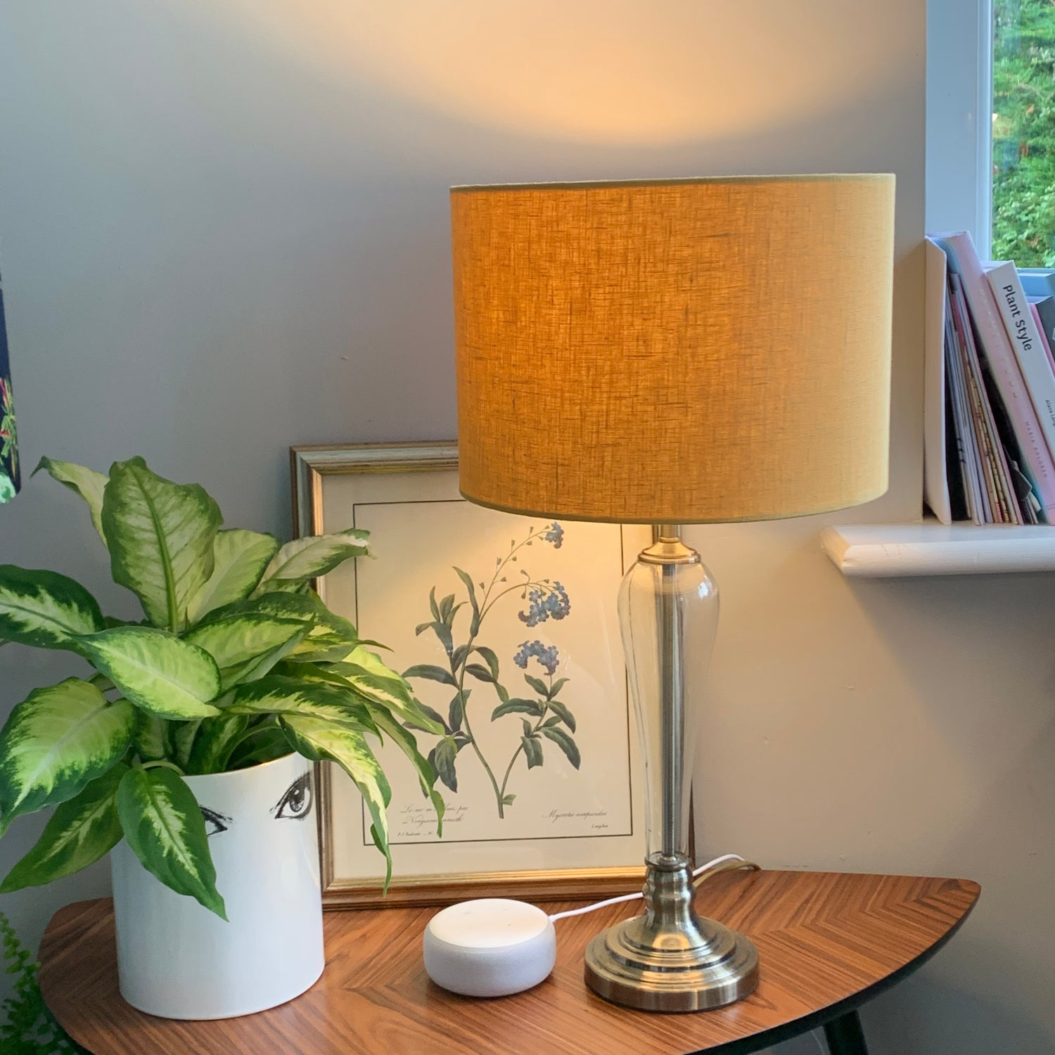 Image of 100% Washed Linen Mustard Shade