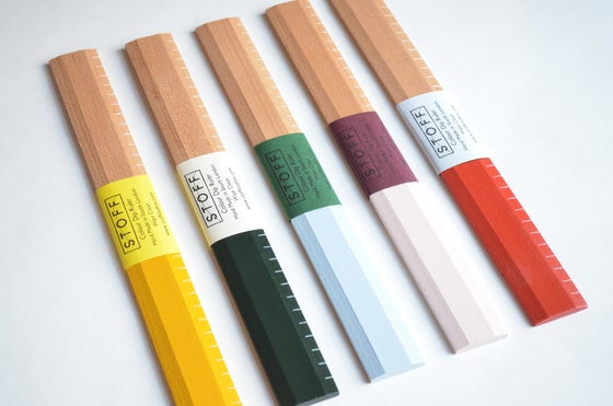 Image of Colour dip rulers by Stoff Studios