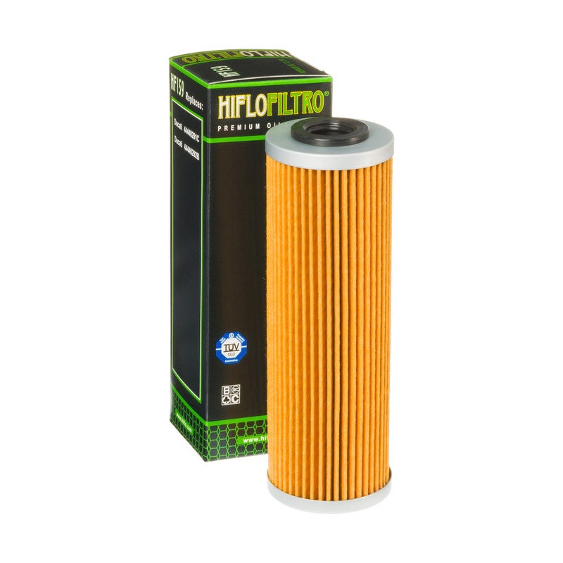 Image of HIFLOFILTRO - OIL FILTER HF159 Motorcycle Oil Filter