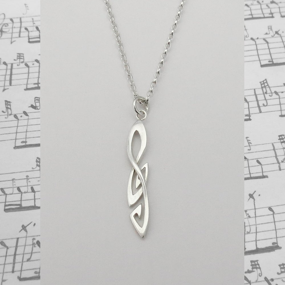 Image of Treble Clef Pendant