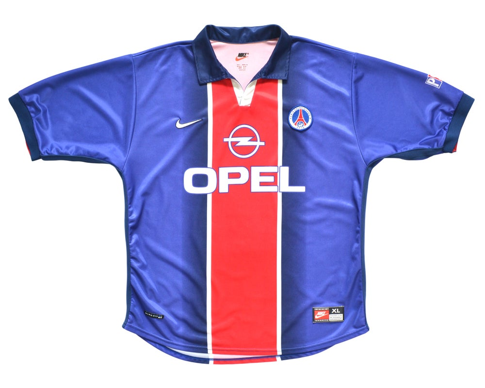 Image of 1998-99 Nike PSG Home Shirt XL
