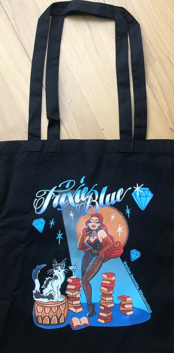Image of Trixie Blue Tote Bag