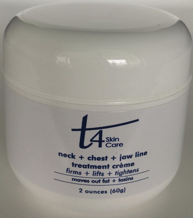Image of T4 Neck + Chest + Jaw Line Creme