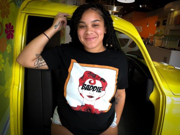 Image of Baddie N Roses Tee