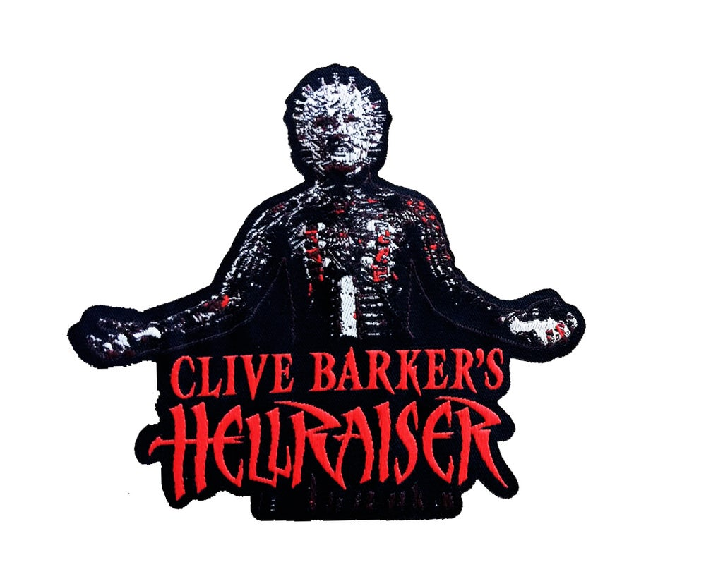 Image of Hellraiser woven patch