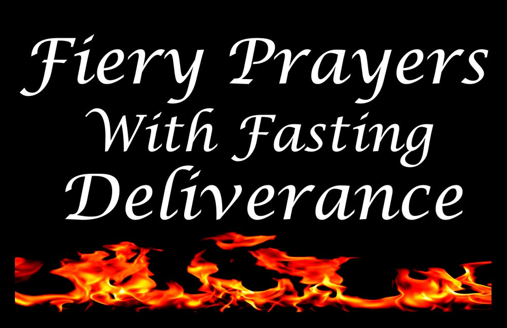 Image of Fasting for Deliverance