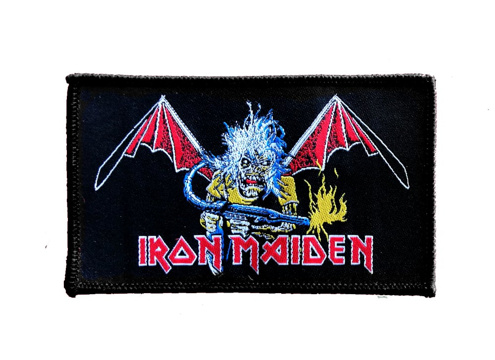Image of Iron Maiden woven patch