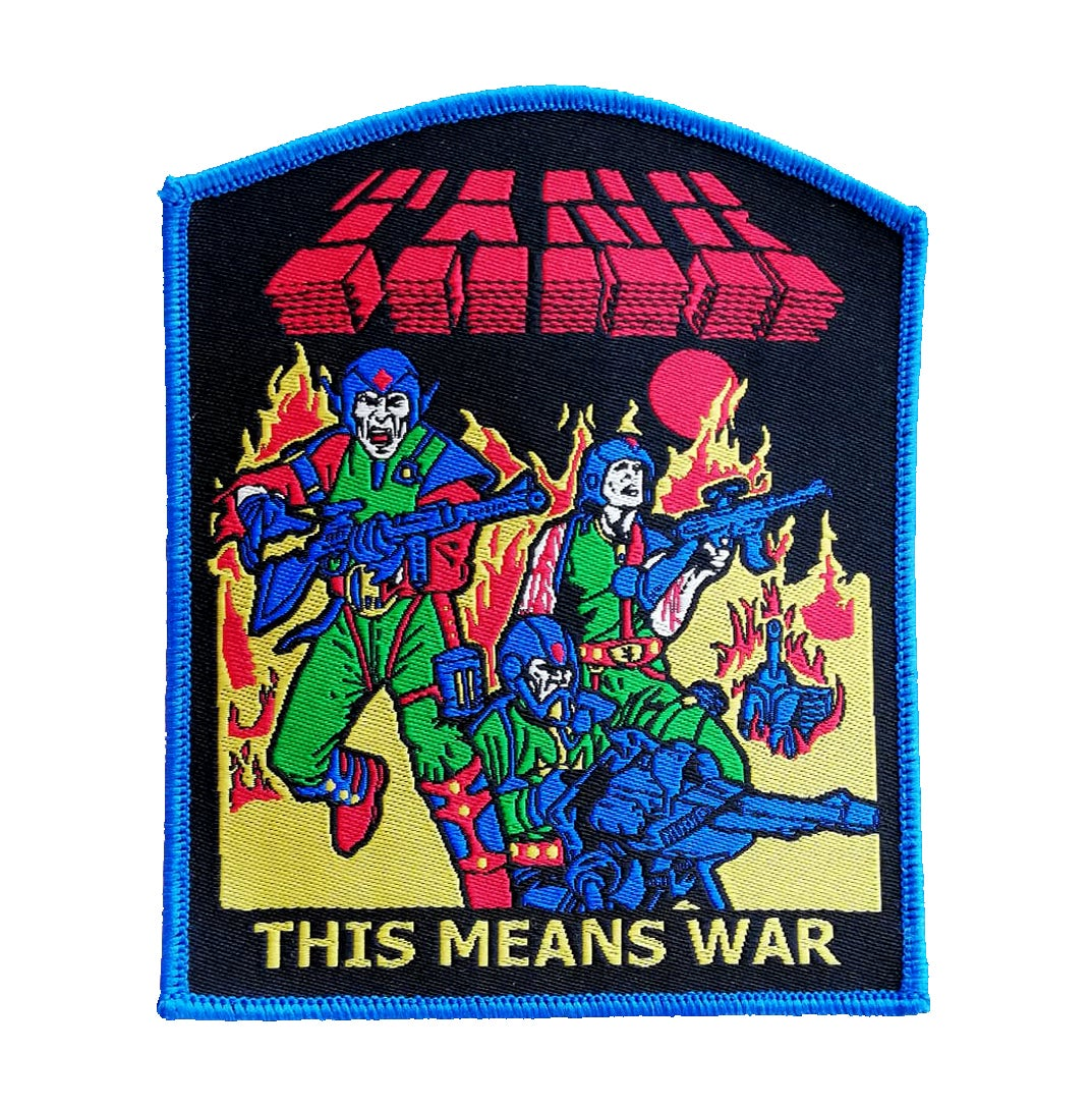 Image of Tank woven patch