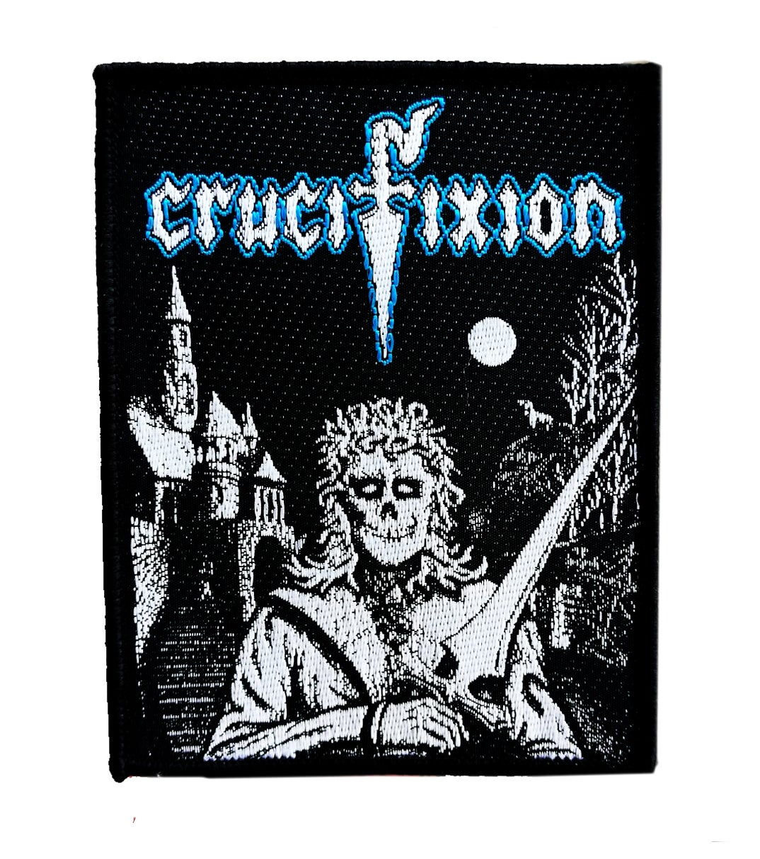 Image of Crucifixion woven patch