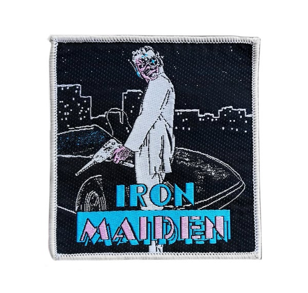 Image of Iron Maiden - Miami vice woven patch