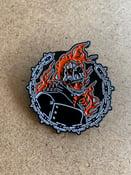 Image of Rider (enamel pin)
