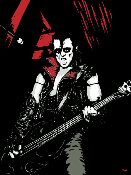 Image of Misfits Jerry Only art print