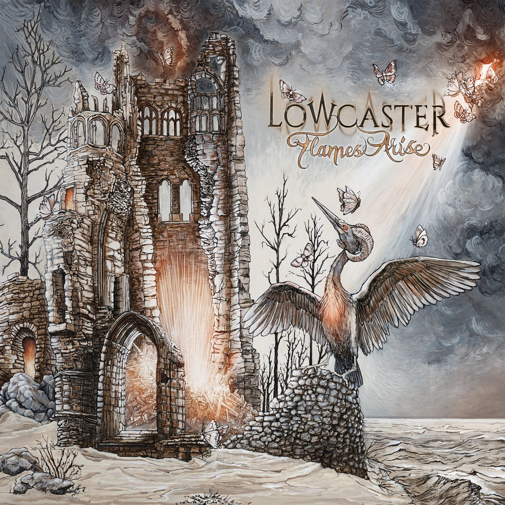 Image of Lowcaster - Flames Arise Classic Black Vinyl LP
