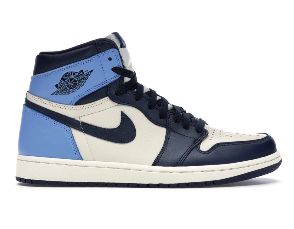 Image of Jordan 1 UNC Leather
