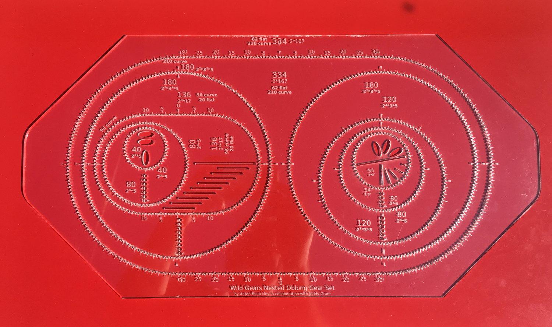 Image of Nested Oblong Gear Set