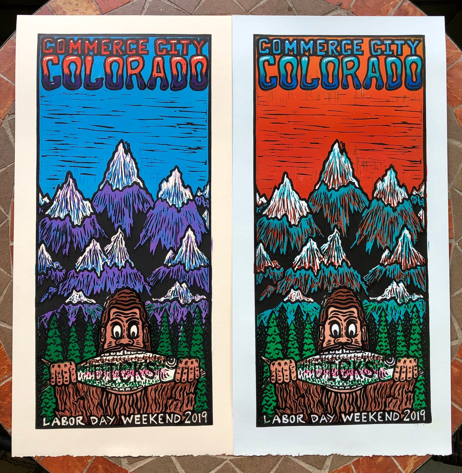 Image of Dick's 2019 prints