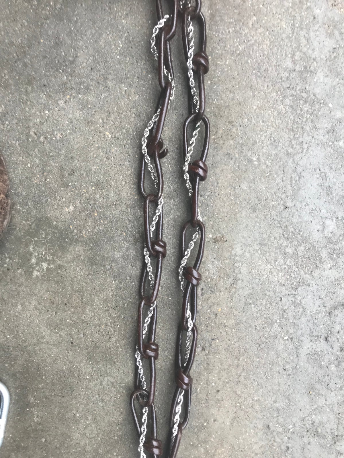 "Image of Hypno 24"" gloss rust x silver rope"