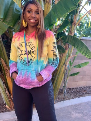 Image of Rainbow Hooded Sweater