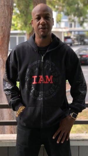 Image of I AM Zip Up Hoodie