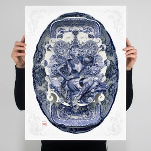 Image of BOLLYWOOD SUGAR IN BLUE | SILVER | AP (3 items available)