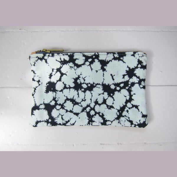 Image of Printed textile clutch, small # 4
