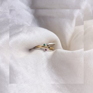 Image of BAGUE RÉVERSIBLE taille 56
