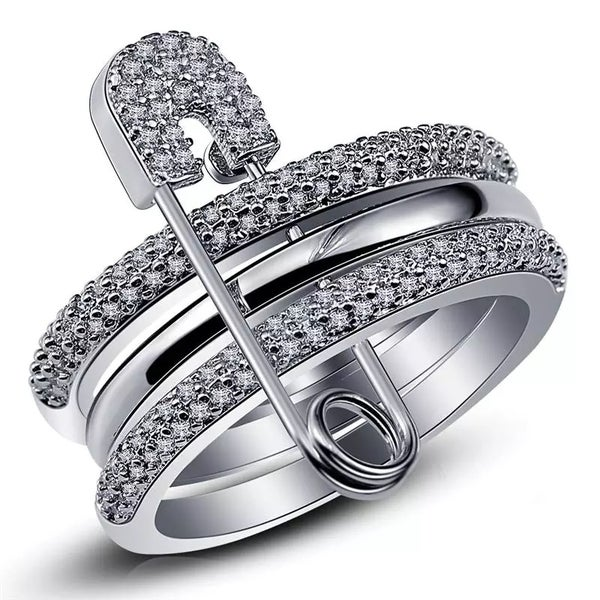 Image of Safety Pin Ring
