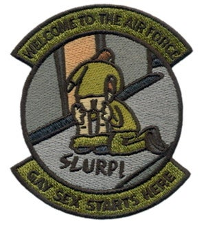 Image of Welcome to the Air Force Patch