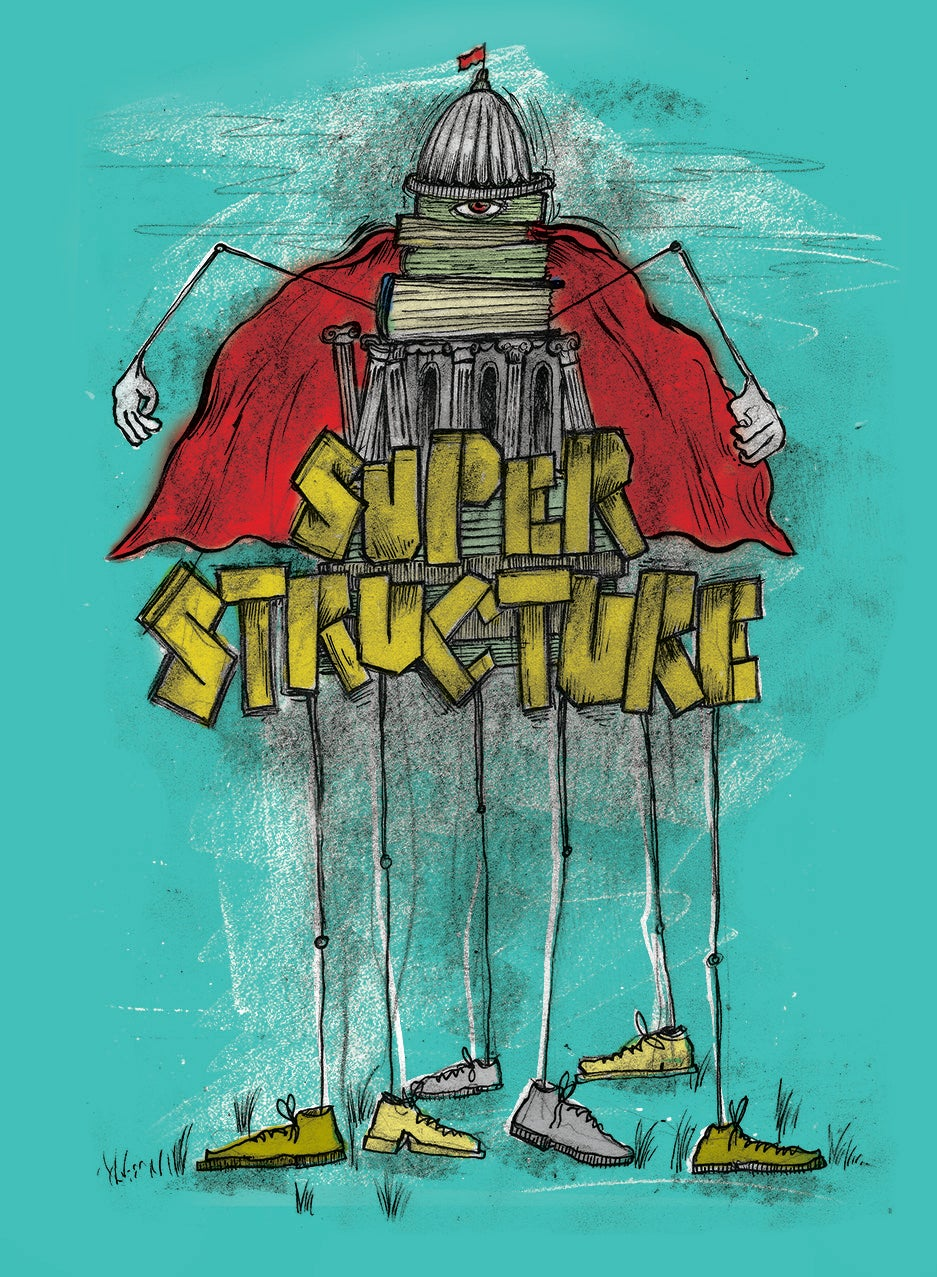 BASE and SUPERSTRUCTURE Print set