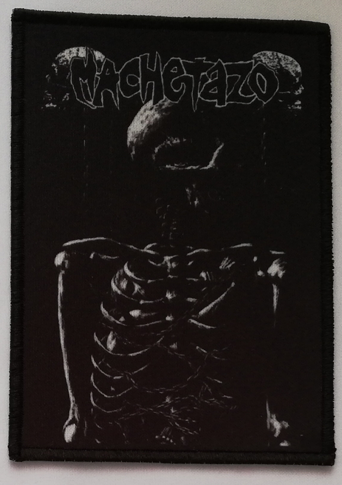 Image of MACHETAZO - Ruin patch (14x10 cm)