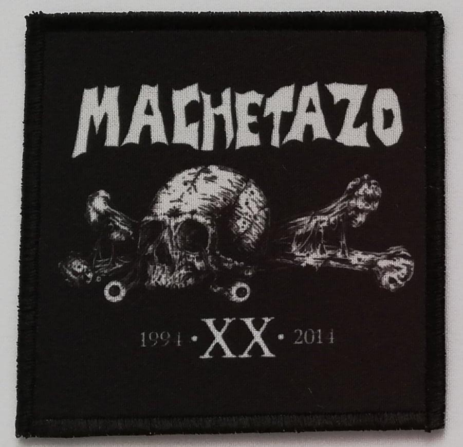 Image of MACHETAZO - Logo patch (10x10 cm)