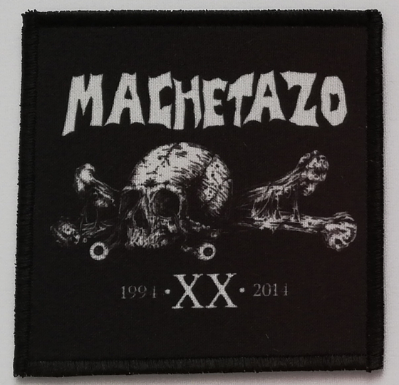 Image of MACHETAZO - Logo patch (10x10 cm)