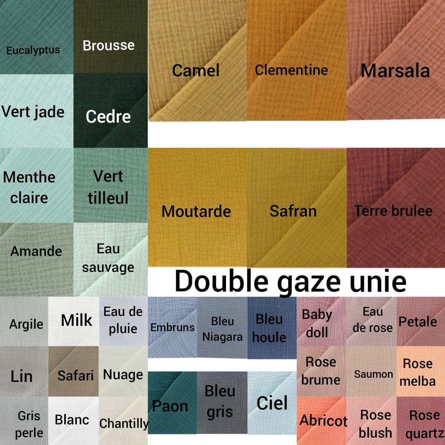 Image of Nuancier voile/double gaze (cliquez pour voir plus de coloris)