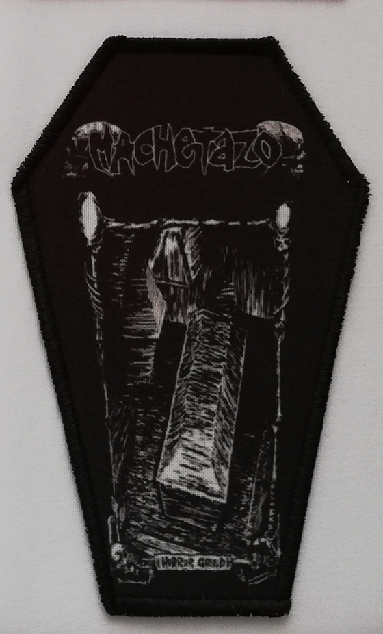 Image of MACHETAZO - Horror Grind coffin patch