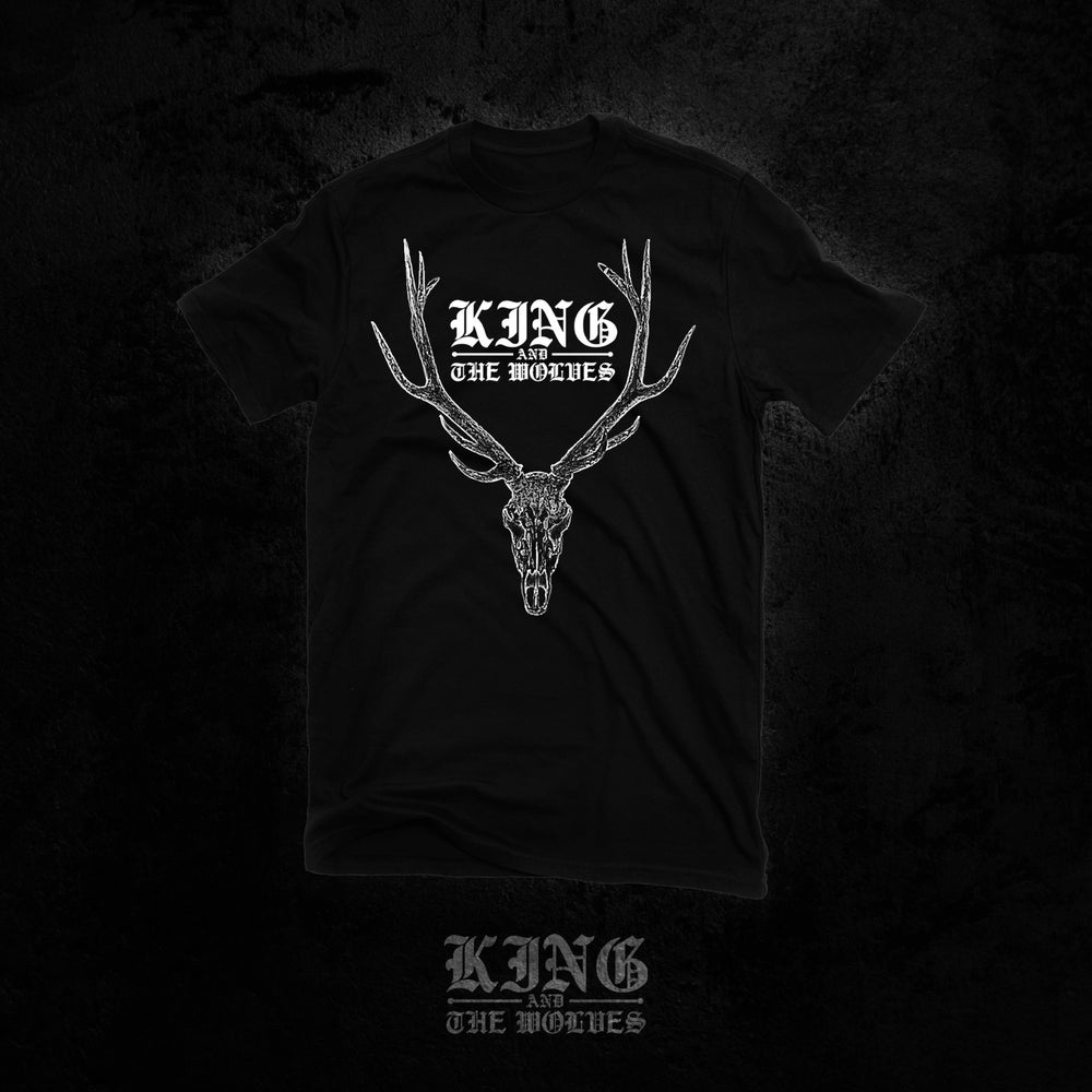Image of Stag Skull shirt