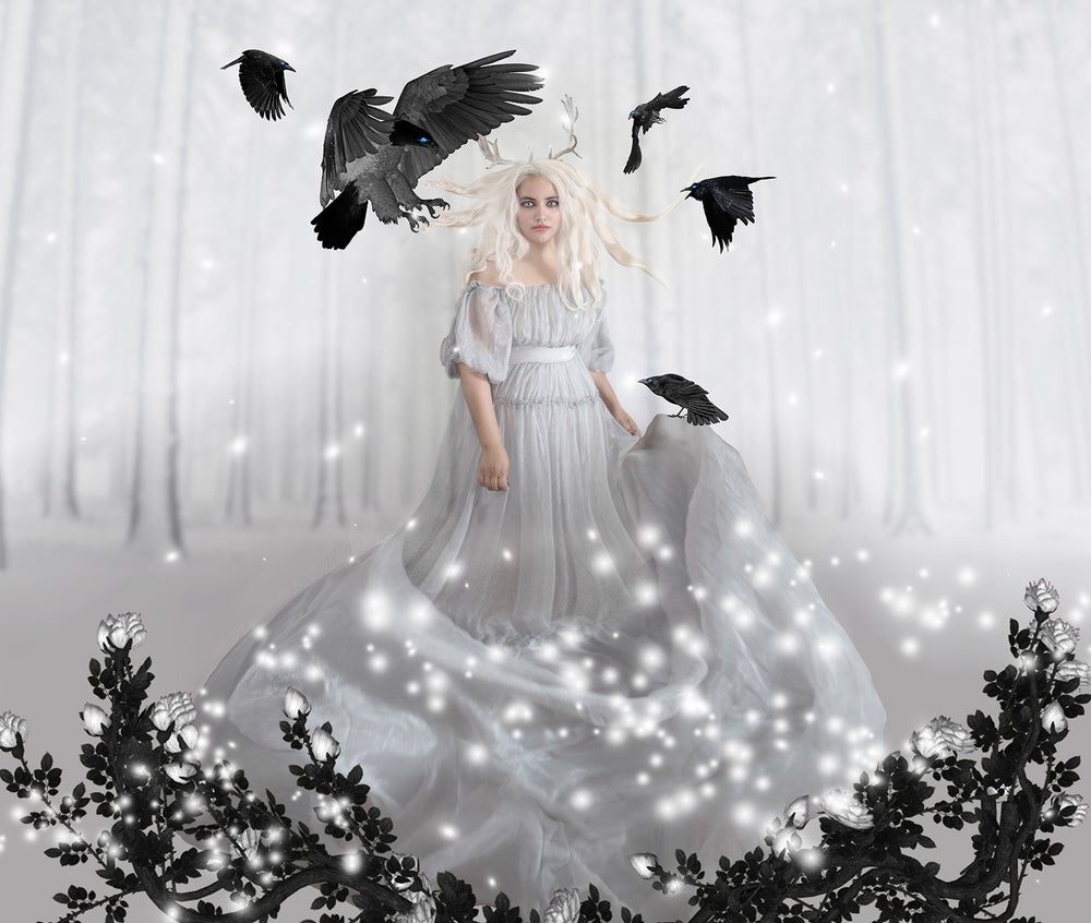 Image of Surrounded by Ravens
