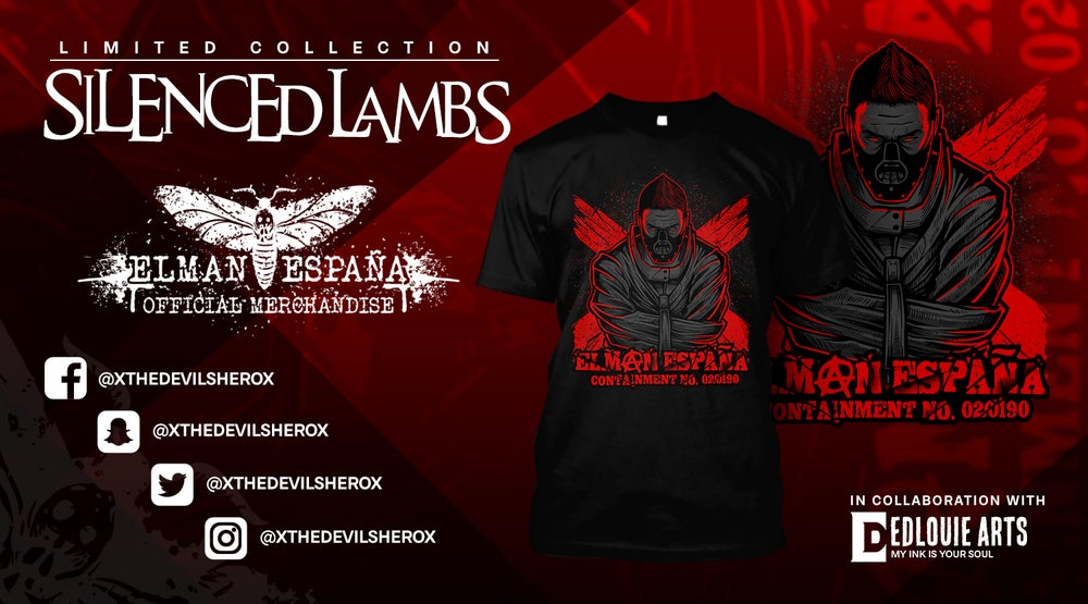 "Image of Elman España ""Silenced Lambs "" T-shirt"