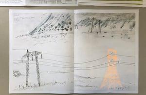 Image of Iceland Sketchbookzine - Hand Finished Limited Edition