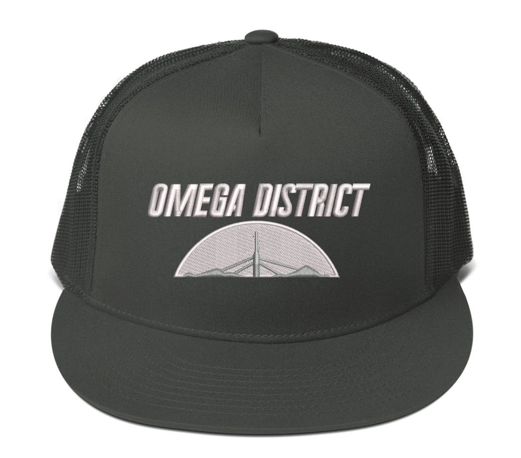 Image of Omega District - Alpha Base Trucker Hat