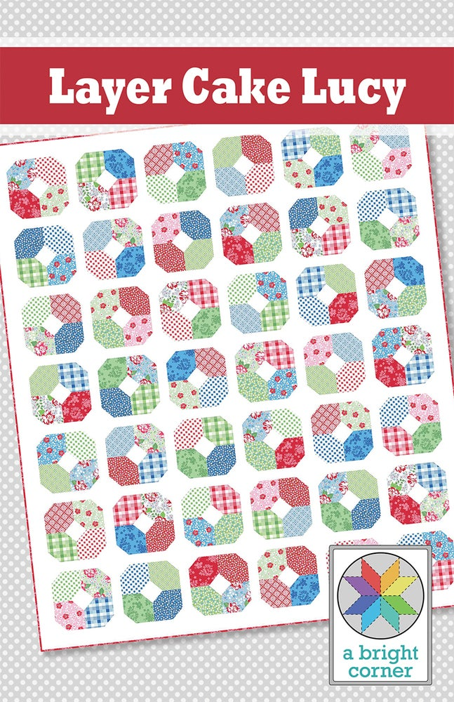 Image of Layer Cake Lucy Pattern - PAPER pattern