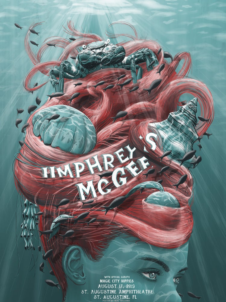 Image of Umphrey's McGee in St. Augustine Poster