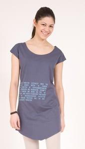 "Image of T-Shirt Kleid ""Kinderarbeit"""