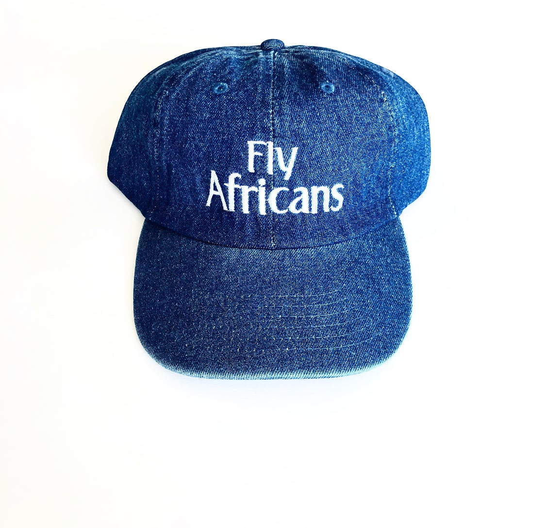 Image of Fly Africans Dad cap