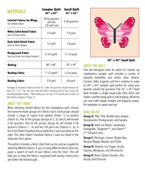 Image of LEPIDOPTERA pdf quilt pattern